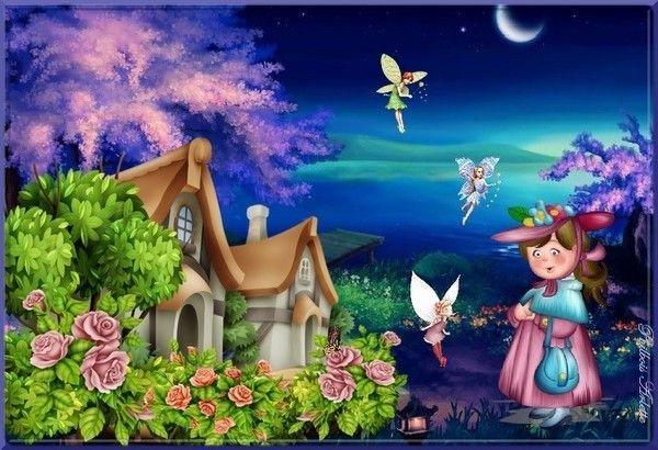 La maison des fées
