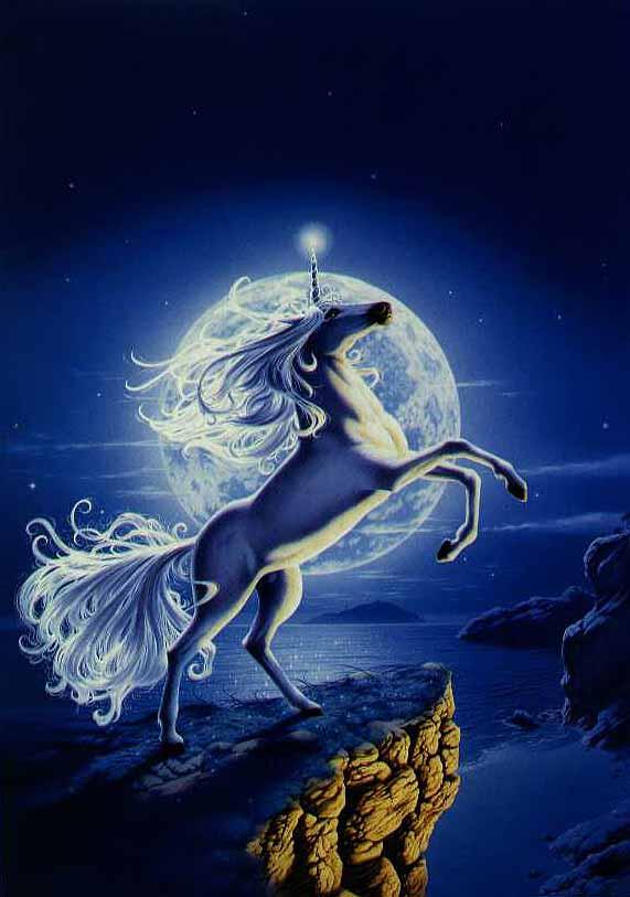 La lune et la licorne-  Arlette Philbois Ja48jhm4
